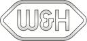 Dieses Bild zeigt das Logo von W&H Dentalwerke