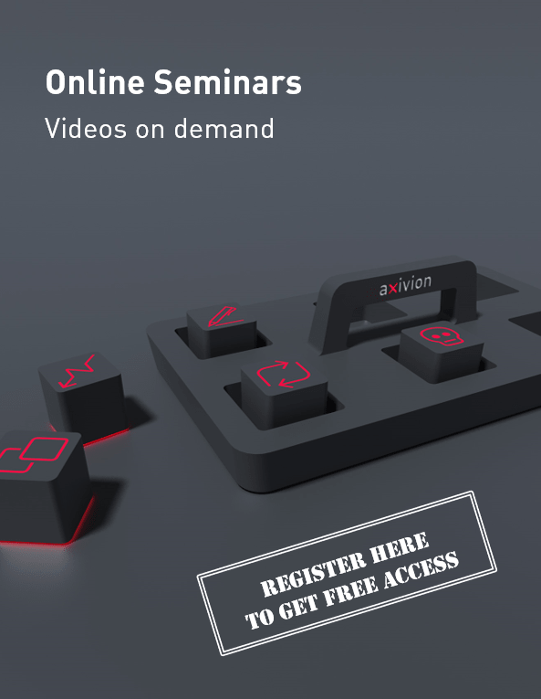 Register here for Axivions free online seminars on demand